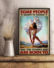 Ballet - Some People Learn To Dance 11x17 Poster lifestyle-poster-3