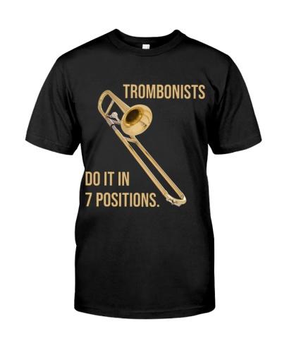 Trombone Trombonists do it in 7 positions