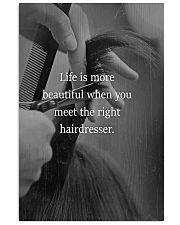 Meet Right Hairdresser 11x17 Poster front