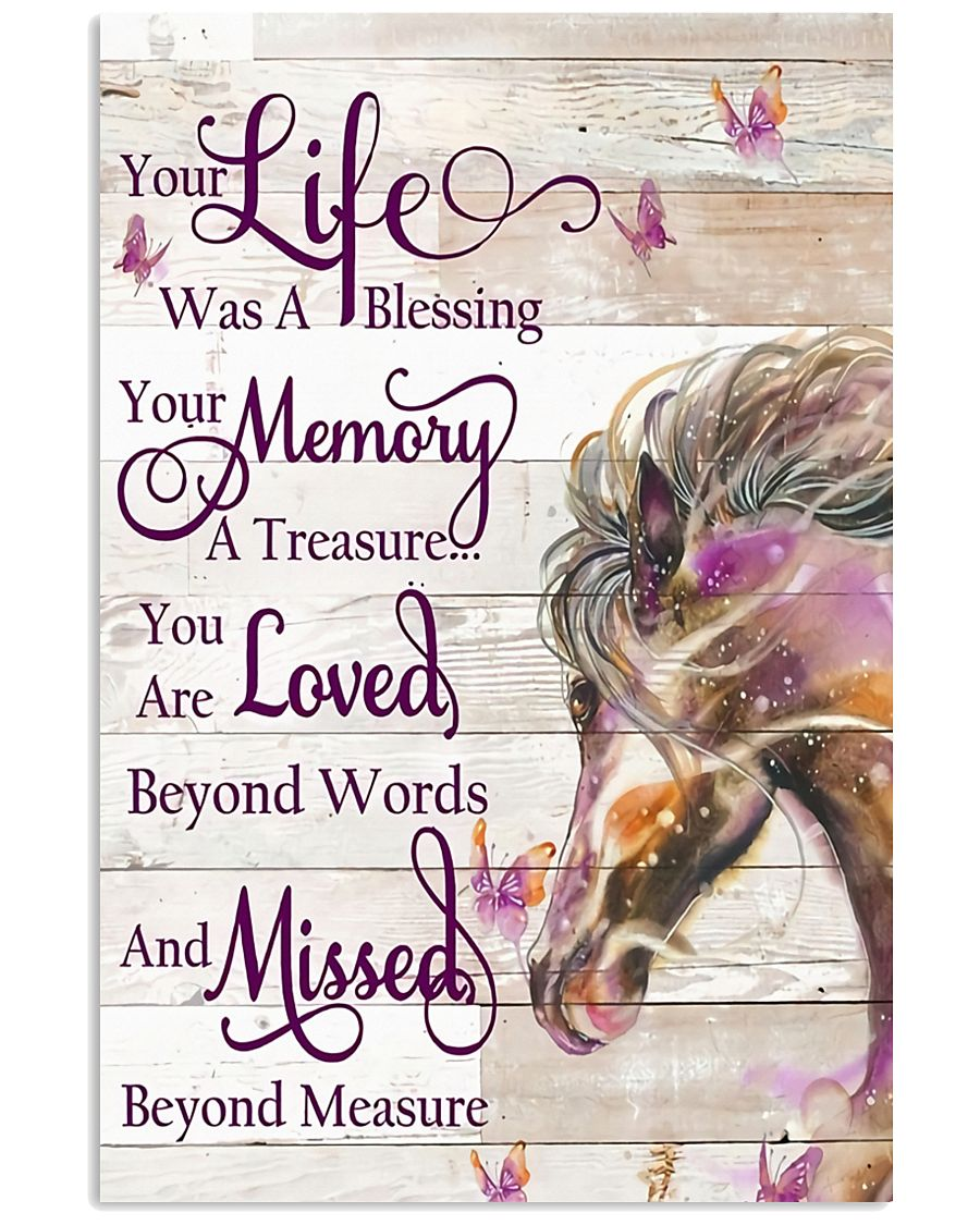 Horse Girl - Life and Memory 11x17 Poster
