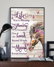 Horse Girl - Life and Memory 11x17 Poster lifestyle-poster-2
