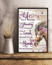 Horse Girl - Life and Memory 11x17 Poster lifestyle-poster-3