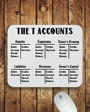 Accountant - The T Accounts Mousepad aos-mousepad-front-lifestyle-2