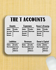 Accountant - The T Accounts Mousepad aos-mousepad-front-lifestyle-6
