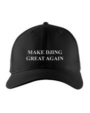 Disc Jockey - Make DJing great again Embroidered Hat front