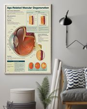 Optometrist Age-Related Macular Degeneration 11x17 Poster lifestyle-poster-1