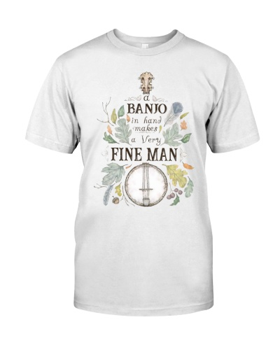 Fine Man With Banjo