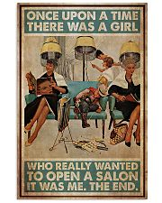 Hairdresser Woman Opens A Salon 11x17 Poster front