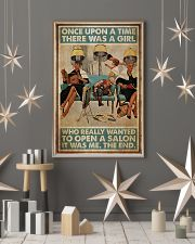 Hairdresser Woman Opens A Salon 11x17 Poster lifestyle-holiday-poster-1
