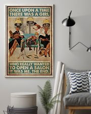 Hairdresser Woman Opens A Salon 11x17 Poster lifestyle-poster-1