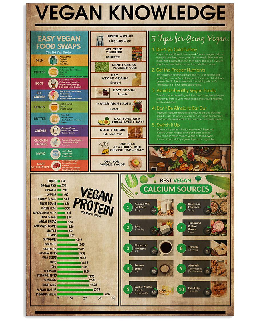 Vegan Knowledge 11x17 Poster