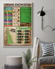 Vegan Knowledge 11x17 Poster lifestyle-poster-1