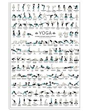 Yoga 150 Poses Your Body Wishes You To Practice 11x17 Poster front
