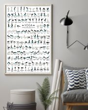 Yoga 150 Poses Your Body Wishes You To Practice 11x17 Poster lifestyle-poster-1