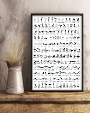 Yoga 150 Poses Your Body Wishes You To Practice 11x17 Poster lifestyle-poster-3