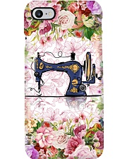 Colorful Flowers Sewing Machine Phone Case i-phone-7-case