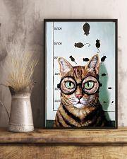 Optometrist Cat Eye Chart 11x17 Poster lifestyle-poster-3