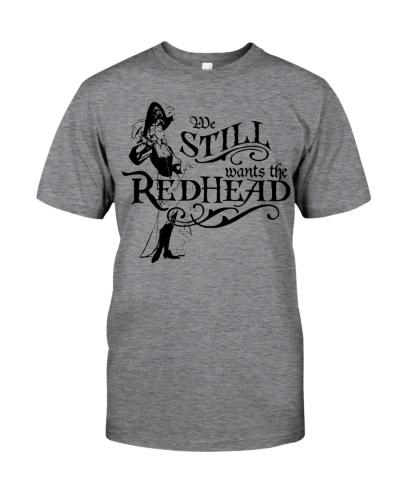 We still wants the Redhead Girl