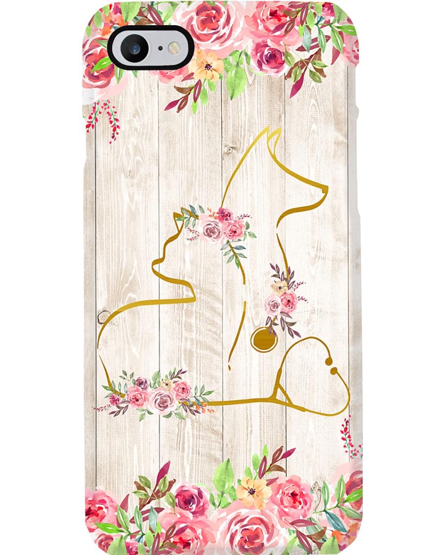 Veterinarian Flower Phone Case