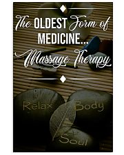 Massage Therapy The Oldest Form Of Medicine 11x17 Poster front