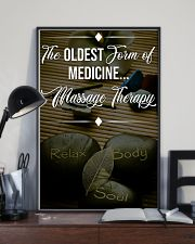 Massage Therapy The Oldest Form Of Medicine 11x17 Poster lifestyle-poster-2