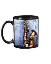 Vintage Saxophone Mug back