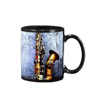 Vintage Saxophone Mug front