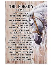 Horse Girl - The Horse prayer poster 11x17 Poster front