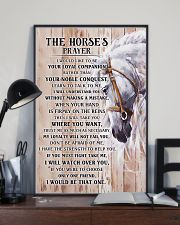 Horse Girl - The Horse prayer poster 11x17 Poster lifestyle-poster-2