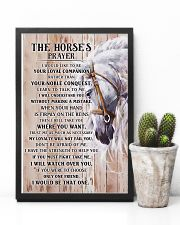 Horse Girl - The Horse prayer poster 11x17 Poster lifestyle-poster-8