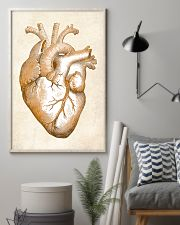 Gold Heart Cardiology 24x36 Poster lifestyle-poster-1