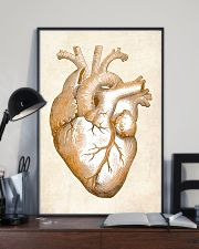 Gold Heart Cardiology 24x36 Poster lifestyle-poster-2