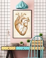 Gold Heart Cardiology 24x36 Poster lifestyle-poster-6