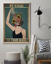 Social Worker Be Kind To Your Mind 11x17 Poster lifestyle-poster-1