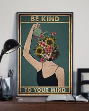 Social Worker Be Kind To Your Mind 11x17 Poster lifestyle-poster-2