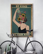 Social Worker Be Kind To Your Mind 11x17 Poster lifestyle-poster-7