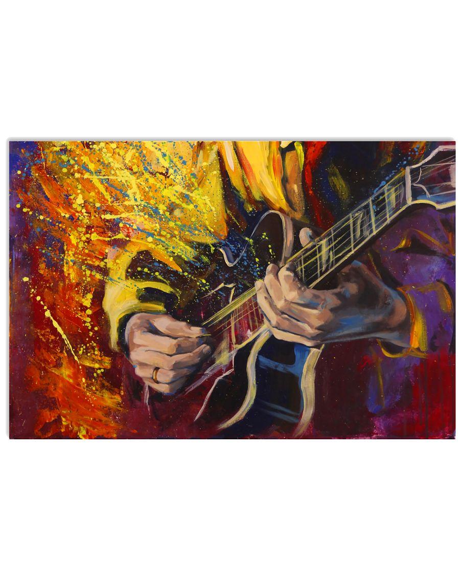Guitar Artwork 17x11 Poster