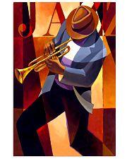 Trumpet Jazz Man 11x17 Poster front