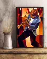 Trumpet Jazz Man 11x17 Poster lifestyle-poster-3