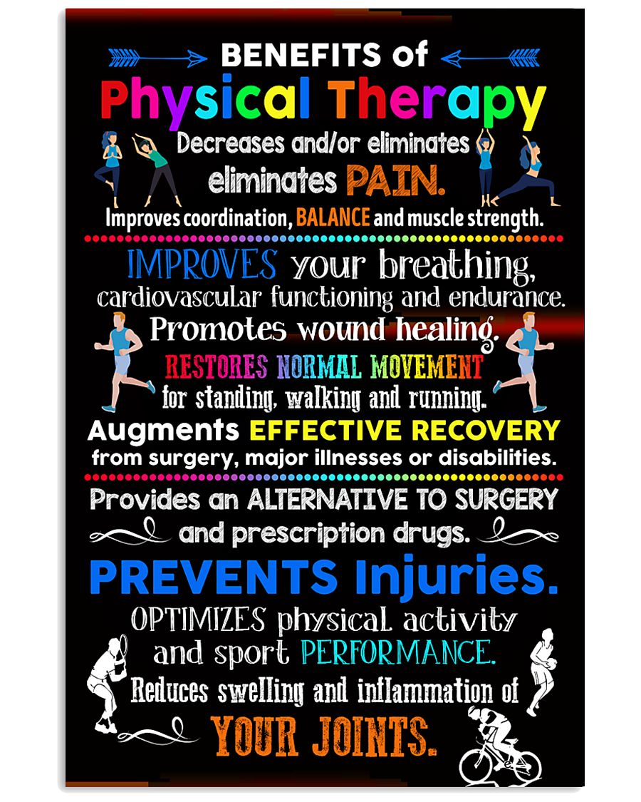 Advantages Of Physical Therapy 11x17 Poster
