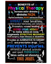 Advantages Of Physical Therapy 11x17 Poster front