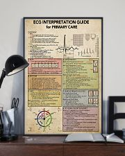ECG Interpratation Guide Cardiologist 11x17 Poster lifestyle-poster-2