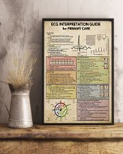 ECG Interpratation Guide Cardiologist 11x17 Poster lifestyle-poster-3