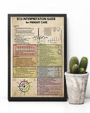 ECG Interpratation Guide Cardiologist 11x17 Poster lifestyle-poster-8