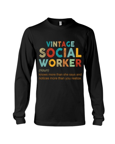 Vintage Social Worker knows more than she says
