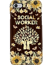 Social Worker Flowery Gift Phone Case i-phone-7-case