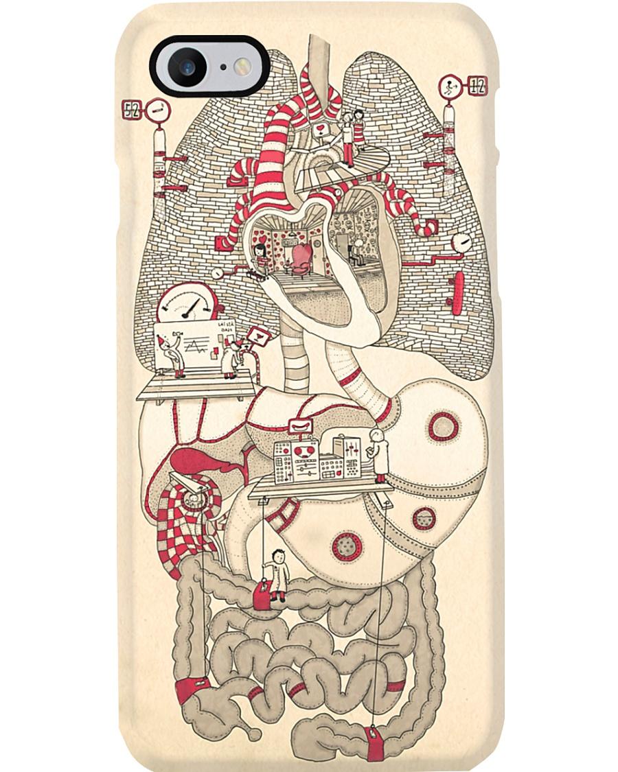 Paramedic Anatomy Doodle Phone Case