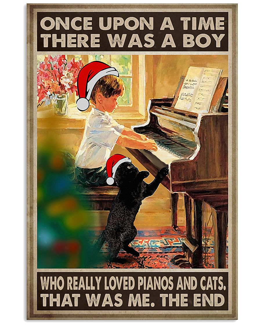Piano Once Upon A Time 11x17 Poster