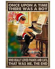 Piano Once Upon A Time 11x17 Poster front