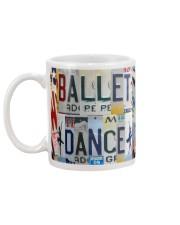 Ballet Dancer Mug back